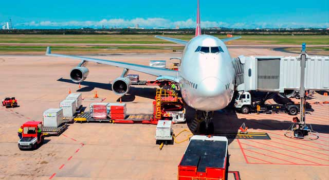 Brisbane International Airport (IATA: BNE) is the third largest airport in Australia.